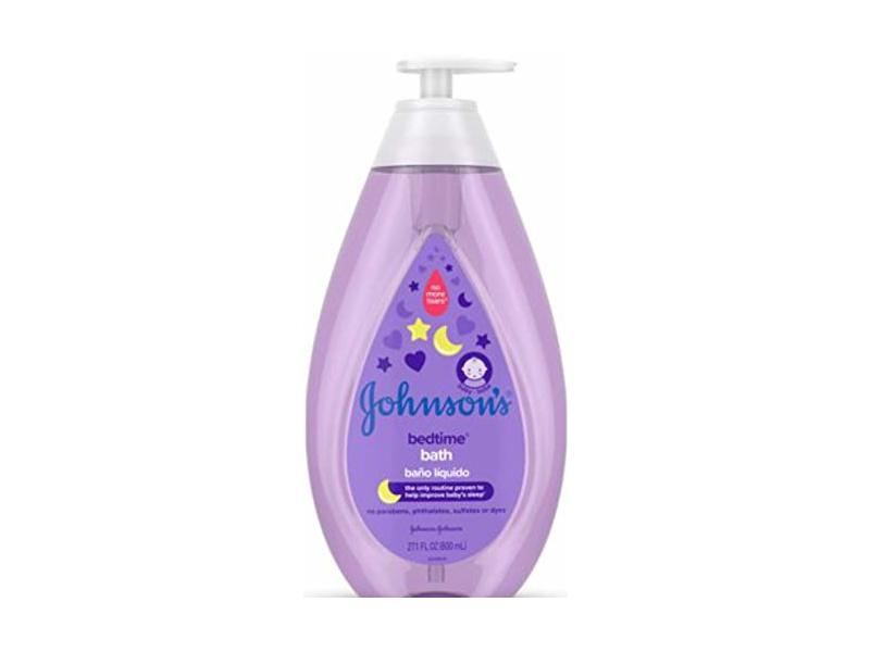 Johnson's Bedtime Baby Bath with Soothing Aromas, 27.1 fl oz