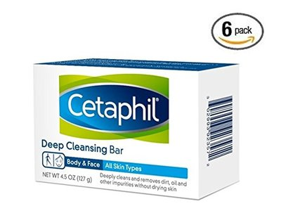Cetaphil Deep Cleansing Face & Body Bar for All Skin Types, 4.5 oz - Image 3