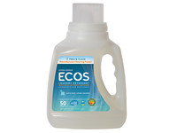 Earth Friendly Ecos Laundry Detergent, Free & Clear, 50 fl oz - Image 2