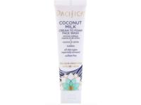 Pacifica Coconut Milk Cream To Foam Face Wash, 1.4 fl oz/40 ml - Image 2