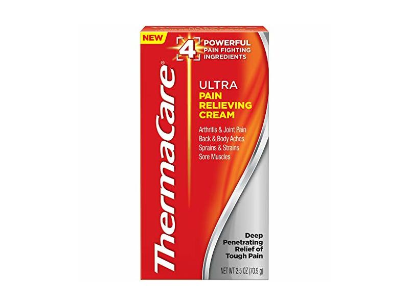 ThermaCare Ultra Pain Relieving Cream, 2.5 oz (Pack of 2)