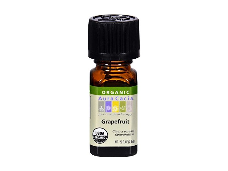 Aura Cacia Essential Oil, Grapefruit, .25 Fz