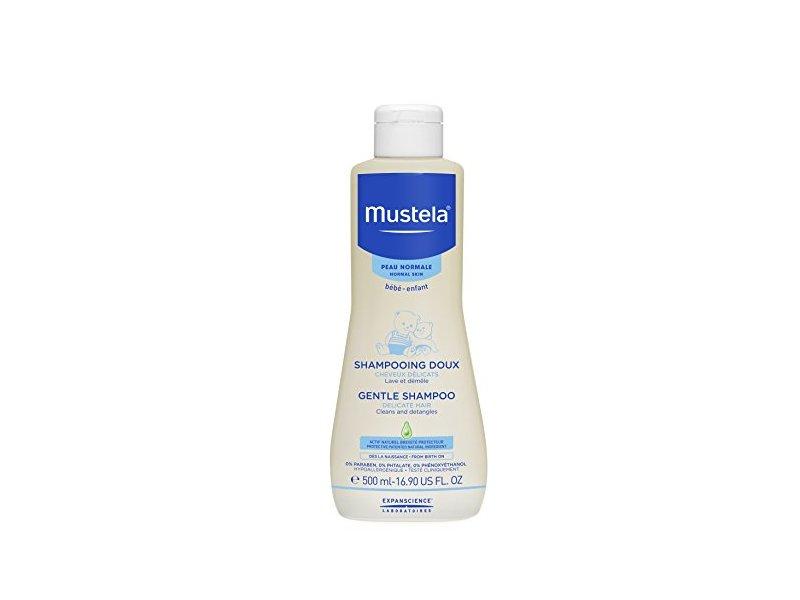 Mustela Gentle Shampoo, 16.9 fl oz