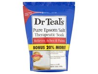 Dr. Teal's Pure Epsom Salt Therapeutic Soak, 7.2 Lbs - Image 2