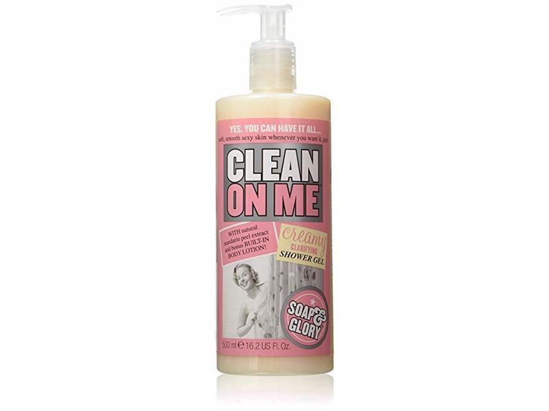 Soap & Glory Clean on Me Creamy Clarifying Shower Gel, 500 ml