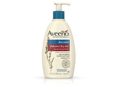 Aveeno Skin Relief Diabetics Dry Skin Lotion 12 Fluid Ounce