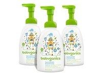 Babyganics Foaming Dish and Bottle Soap, Fragrance Free, 16oz Pump Bottle - Image 2