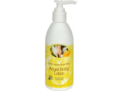Earth Mama Angel Baby - Angel Baby Lotion, Vanilla Orange, 8 fl oz