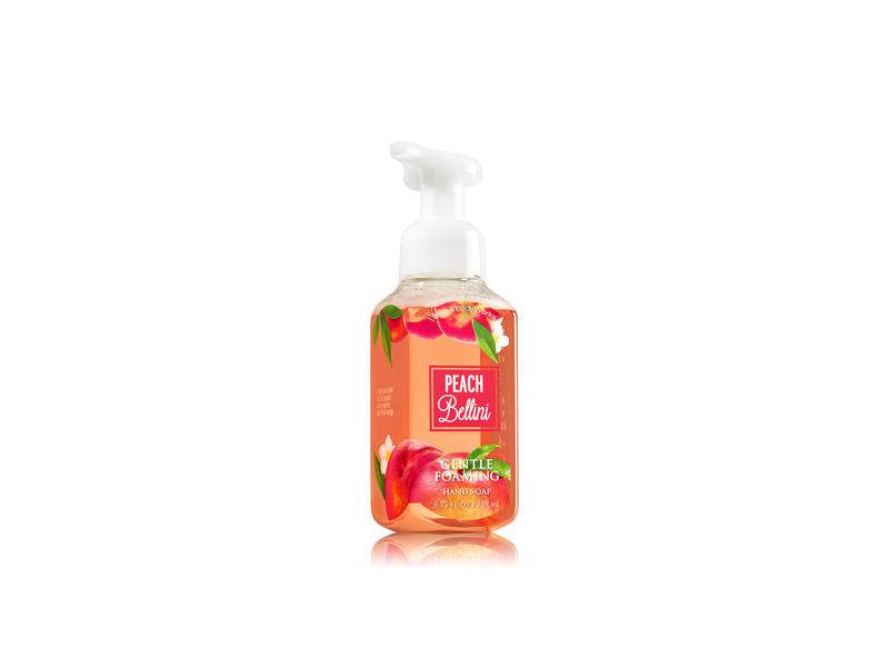 Bath Body Works Gentle Foaming Hand Soap Peach Bellini 8 75 Fl