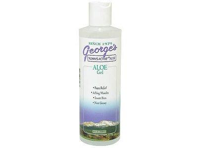 George's Aloe Vera Gel, 8 Ounce