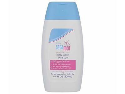 Sebamed Baby Wash Extra Soft 6.8 Fluid Ounces (200 Milliliters)