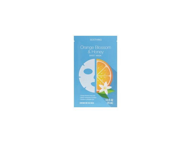 Beauty 360 Orange Blossom & Honey Soothing Sheet Mask