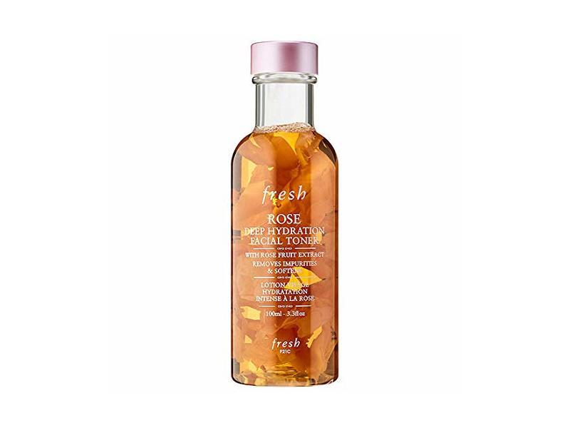 Fresh Rose Deep Hydration Facial Toner/Water, 3.3 oz
