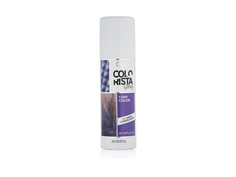 L'Oreal Paris Hair Color Colorista 1-Day Spray, Purple, 2 Ounce