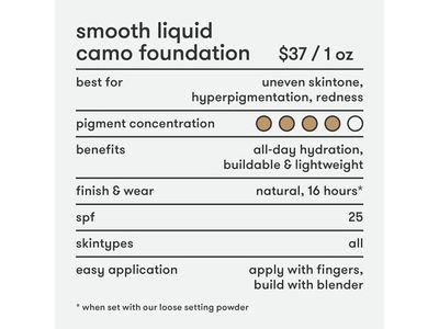 Dermablend Smooth Liquid Camo 30n Camel - Image 10
