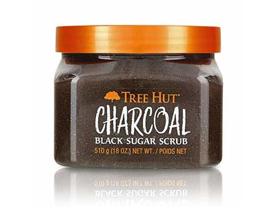 Tree Hut Charcoal Black Sugar Scrub, 18oz