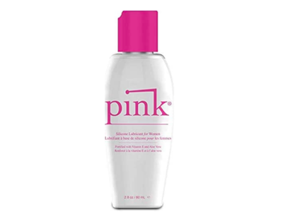 Pink Silicone Lubricant For Women, 2.8 oz/80 mL
