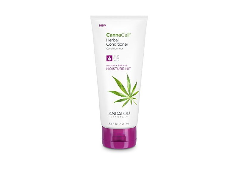 Andalou Naturals CannaCell Herbal Conditioner, Moisture Hit, 8.5 Ounce