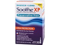 Soothe Xtra Protection Preservative Free Emollient Lubricant Eye Drops, 30 Count - Image 9