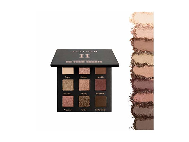 RealHer Do Your Squats Eyeshadow Palette II, 0.4 oz