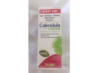 Boiron Calendula Cream 2 5 Oz Ingredients And Reviews