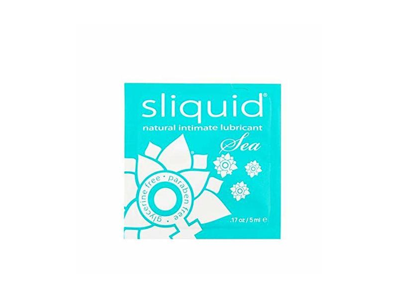 Sliquid Lubricants H2o Natural Intimate Lubricant Pillow Packs, 200 Count