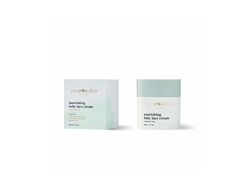 Evereden Nourishing Baby Face Cream, 50 g/1.7 oz