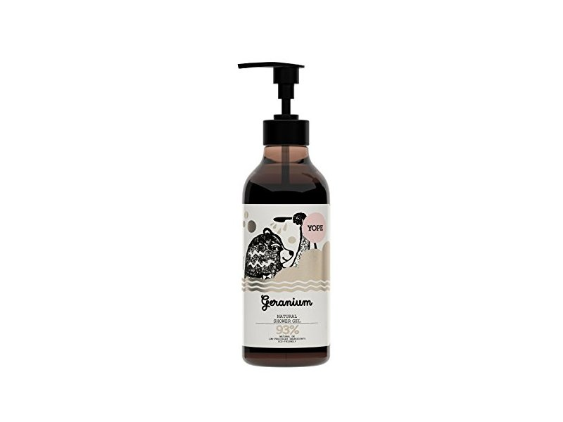 Yope Geranium Shower Gel, 400ml