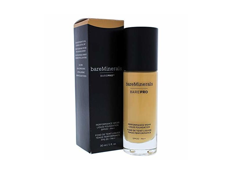 bareMinerals Barepro Performance Wear Liquid Foundation Spf 20, 20 Honeycomb, 1 Ounce