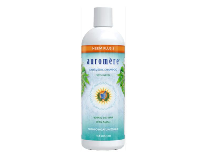 Auromere Ayurvedic Shampoo with Neem, 16 fl oz