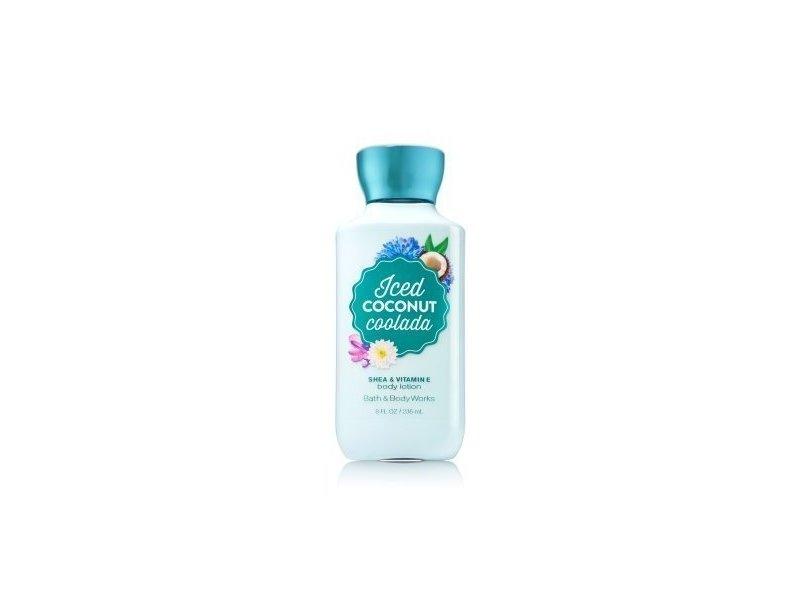 Bath & Body Works Iced Coconut Coolada Body Lotion, Shea & Vitamin E, 8 fl oz