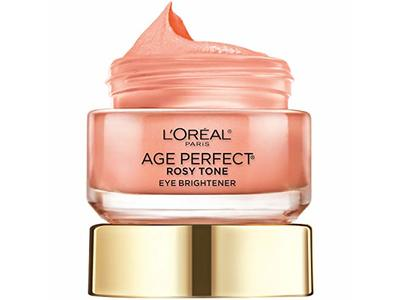 L'oreal Paris Skin Care Age Perfect Rosy Tone Eye Brightener Cream, 0.5 Ounce - Image 12