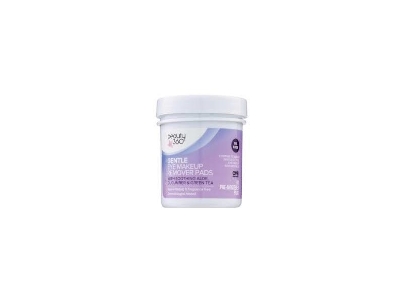 Beauty 360 Oil-Free Gentle Eye Makeup Remover Pads