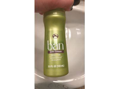 Ban Roll-On Antiperspirant Deodorant, Satin Breeze, 3.5oz (Pack of 2) - Image 3