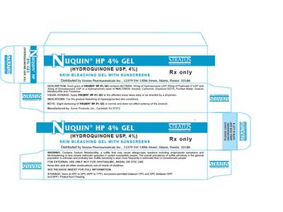Nuquin HP 4% Gel (RX) 14.2 Grams, Stratus Pharmaceuticals, Inc.