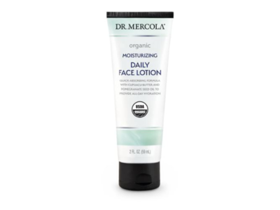 Dr. Mercola Moisturizing Daily Face Lotion, 2 fl oz