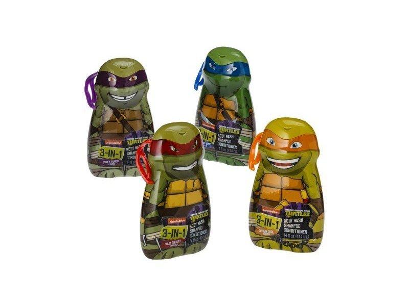 Nickelodeon Teenage Mutant Ninja Turtles 3-in-1 Body Wash, 14 fl oz