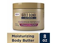 Gold Bond Ultimate Radiance Renewal Cream, Whipped Shea Butter, 8 oz - Image 2