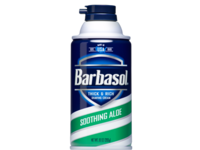Barbasol Soothing Aloe Thick and Rich Shaving Cream, 6 oz - Image 2
