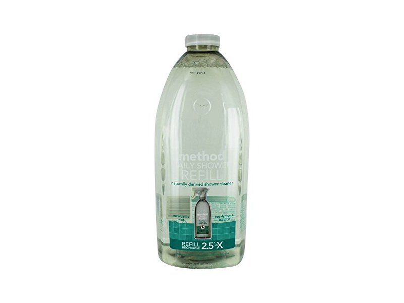 Method Daily Shower Spray Cleaner Refill, Eucalyptus Mint, 68 Ounce
