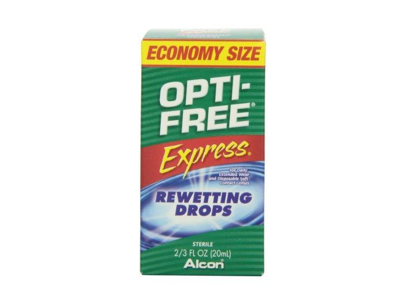 Opti-Free Express Rewetting Drops, 2/3 fl