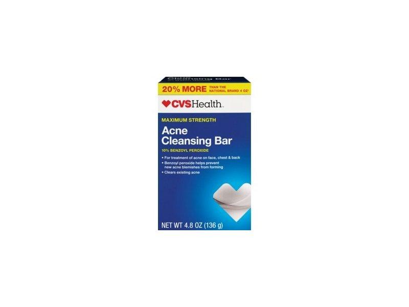 CVS Health Acne Cleansing Bar Maximum Strength