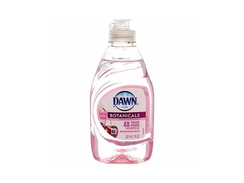 Dawn Ultra Botanicals Dishwashing Liquid Cherry Blossom, 7oz
