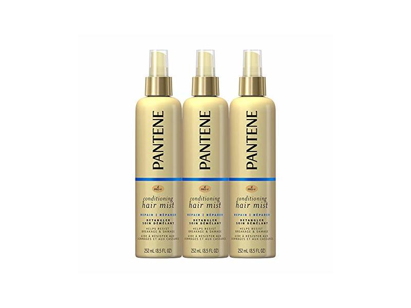 Pantene Conditioning Mist Detangler, 8.5 fl oz (Pack Of 3)