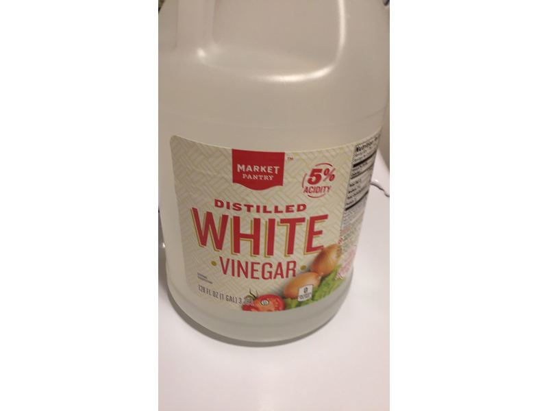 Market Pantry White Vinegar, 128 fl oz