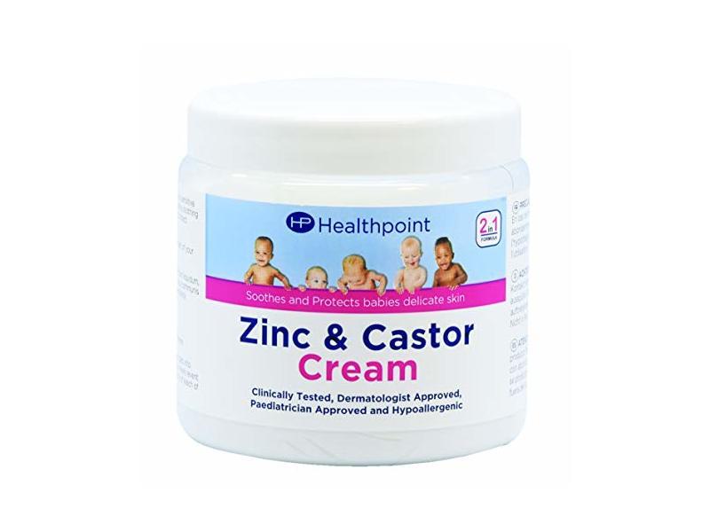 Healthpoint Zinc and Castor Oil Cream, 225 g