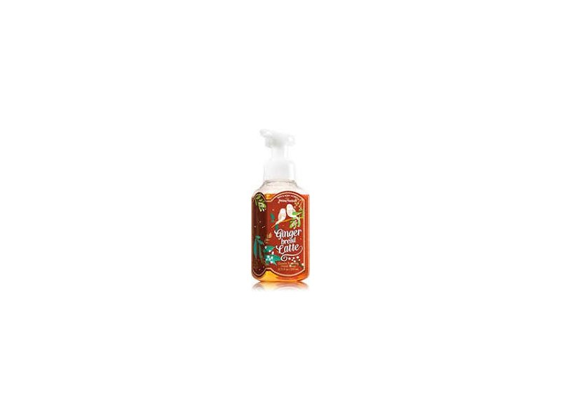 Bath & Body Works Gentle Foaming Hand Soap, Gingerbread Latte, 8.75 fl oz