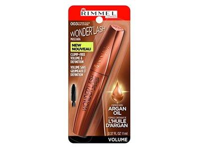 Rimmel Wonderful Wonderlash Mascara, Extreme Black, 0.37 Fluid Ounce - Image 1