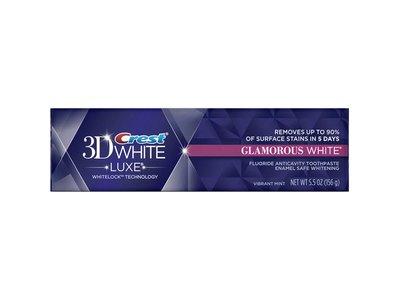 Crest 3D White Luxe Glamorous White Whitening Toothpaste-Vibrant Mint 5.5 oz