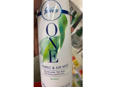 Febreze One Fabric & Air Mist, Bamboo, 10.1 fl oz - Image 3